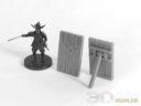 3D Alien Worlds Samurai Pavises 6