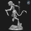 Bombshell Miniatures  Khai The Huntress 2