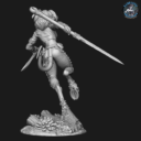 Bombshell Miniatures  Khai The Huntress 3