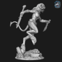 Bombshell Miniatures  Khai The Huntress 5