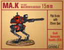 Slave 2 Gaming Maschinenkrieger MA.K In 15mm 1