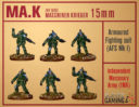 Slave 2 Gaming Maschinenkrieger MA.K In 15mm 3