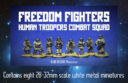 Blind Beggar Freedom Fighters Alien Troopers 1