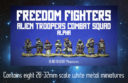 Blind Beggar Freedom Fighters Alien Troopers 2
