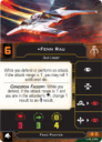 Fantasy Flight Games Star Wars X Wing Phoenix Cell Squadron Pack 5