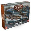 Dystopian Wars Ning Jing Battlefleet Set 1