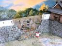 3DAlienWorlds Samurai Ruined Castle Wall 1