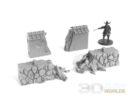 3DAlienWorlds Samurai Ruined Stone Wall 4