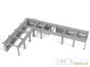 3DAlienWorlds Samurai Temple Walls 10