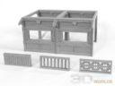 3DAlienWorlds Samurai Temple Walls 11