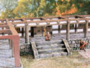 3DAlienWorlds Samurai Temple Walls 3