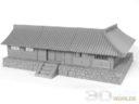 3DAlienWorlds Samurai Temple Walls 8