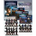 MC Stargrave Rulebook And All The Figures