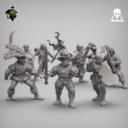 Reptilian Overlords Mercenaries And Militia STL Expansion Set 1