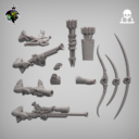 Reptilian Overlords Mercenaries And Militia STL Expansion Set 10