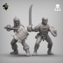 Reptilian Overlords Mercenaries And Militia STL Expansion Set 11