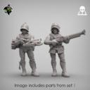 Reptilian Overlords Mercenaries And Militia STL Expansion Set 3