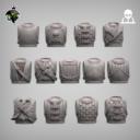 Reptilian Overlords Mercenaries And Militia STL Expansion Set 5