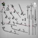 Reptilian Overlords Mercenaries And Militia STL Expansion Set 8