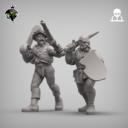 Reptilian Overlords Mercenaries And Militia STL Expansion Set 9