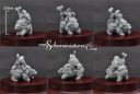 Scibor 15mm Dwarf Lord On War Bear #2