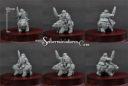 Scibor 15mm Dwarf Lord On War Bear #3