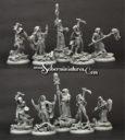 Cthulhu Cultists 5 Miniatures Set 2