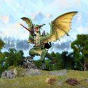 Mantic Games Elf Lord On Drakon 1