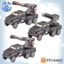 TTCombat DZC AA Gun Wagon Group