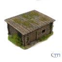 Tabletop Modellbau Holzhütte 2