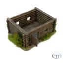 Tabletop Modellbau Holzhütte 3