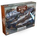 WarcradleStudios Dystopian Wars Borodino Battlefleet Set 1