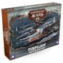 WarcradleStudios Dystopian Wars Tempelhof Battlefleet Set 1