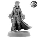 Wargame Exclusive IMPERIAL FEMALE COMMISSAR WITH FISTS OF POWER 1