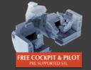 2nd Dynasty Traveller Kickstarter S Type Scout:Courier 1