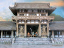 3DAlienWorlds Samurai Temple Outer Gate 3