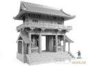 3DAlienWorlds Samurai Temple Outer Gate 8