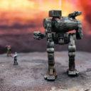Baphomet Miniatures Mechbay Signals Crew 3
