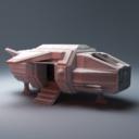 Corvus Games Terrain Grannas Shuttle 1