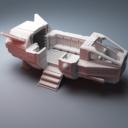 Corvus Games Terrain Grannas Shuttle 4
