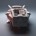 Corvus Games Terrain Grannas Shuttle 6