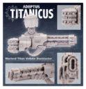 Forge World Adeptus Titanicus Warlord Titan Volkite Destructor 5