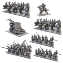 MG Mantic Preview Halblinge Army Mockup