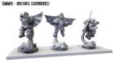 MG Mantic Preview Halblinge Grenadiers