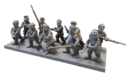 MG Mantic Preview Halblinge Infantry With Handguns