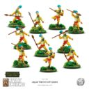 Mythic Americas Jaguar Warriors With Spears 2