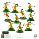 Mythic Americas Jaguar Warriors With Spears 3