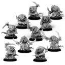 Punga Miniatures 10x Plague Monks 1
