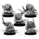 Punga Miniatures 10x Plague Monks 3