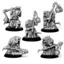 Punga Miniatures 5x Plague Disciples 1